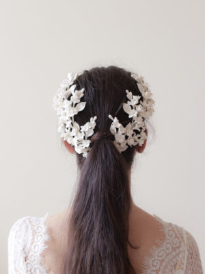 Blossom twigs headpiece / Style905